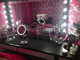 Bathroom Vanity With Built In Makeup Area by Makeup Room A Hollywood Vanity Style Makeup Room