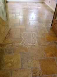 brushed versailles pattern travertine