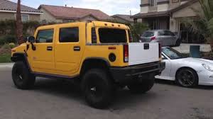 100 Hummer H2 Truck Custom Cut Conversion To T Homemade SUT YouTube