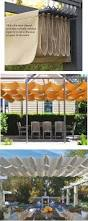 Diy Roll Up Patio Shades by Best 25 Outdoor Shade Ideas On Pinterest Outdoor Sun Shade