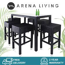 Sorona Long 6 Chair Bar Set / Outdoor Furniture / Bar Table / FREE DELIVERY  ARENA LIVING™ Details About Set Of 5 Pcs Ding Table 4 Chairs Fniture Metal Glass Kitchen Room Breakfast 315 X 63 Rectangular Silver Indoor Outdoor 6 Stack By Flash Tarvola Black A 16 Liam 1 Tephra Alba Square Clear With Ashley 3025 60 Metalwood Hub Emsimply Bara 16m Walnut Signature Design By Besteneer With Magnificent And Ding Table Glass Overstock Alex Grey Counter Height