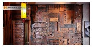 wall decoration with tiles reclaimed wood wall tiles modern wall