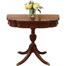 Raymour And Flanigan Keira Dining Room Set by Vintage Mahogany Duncan Phyfe Flat Top Writing Desk Everything