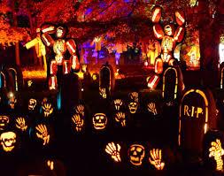 Great Pumpkin Blaze Address by Watch These 7000 Jack O U0027lanterns Set Your Halloween Ablaze Ecophiles