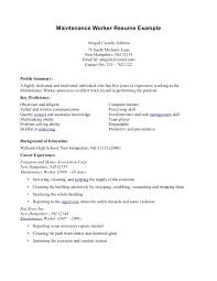 Sample Resume Maintenance Worker Winning Resumes And Cover Letters With Foxy Teacher Com Apartment