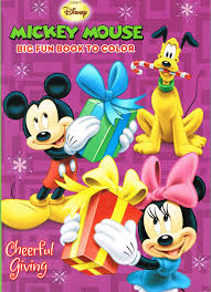 Mickey Mouse Bathroom Set Amazon by Amazon Com Disney Mickey Mouse Christmas Coloring Book Set 2