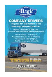 Magic Transportation - Truck News Western Flyer Express Drivewfx Twitter Trucking Co Best Truck 2018 Team Centres Service Freightliner Sterling Star Trucking Flyer Erkaljonathandeckercom Fniture Flipping Females July 13 I80 In Iowa Cti Welcome Village Sales Oklahoma Motor Carrier Magazine Spring 2013 By White Dove Marketing Group Hendersonville Tennessee Greater Exspress Okc The Screws 2 Ukiss My Butt Youtube