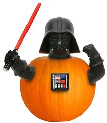 Darth Vader Pumpkin Carving Ideas by Amazon Com Star Wars Darth Vader Halloween Pumpkin Push Ins