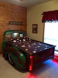 Chevy Truck Bed. Modified The Bed To Fit A Full Size Mattress ...