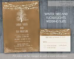 Rustic Winter Wedding Invitations For Weddings