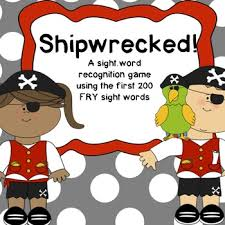 A Sight Word Game Using The First 200 Fry Words