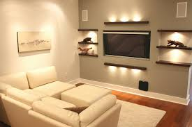 Great Wall Decor Above Couch Contemporary