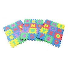 reviews of 36pcs set alphabet numerals baby play mat