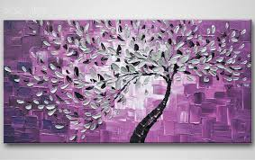 Abstract Art Tree Oil Painting High Quality Hand Painted Home Decor Wall On Canvas HOT Free Shipping In Calligraphy From