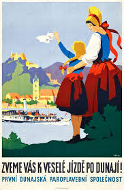 Mother Daughter Pop Love Landscape Travel Agency Ad Vintage Retro Decorative Poster DIY Wall Stickers Posters