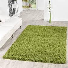 t t design shaggy teppich hochflor langflor teppiche wohnzimmer preishammer versch farben farbe gruen größe 60x100 cm