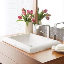 Install Overmount Bathroom Sink by Montecito Drop In Bathroom Sink Native Trails