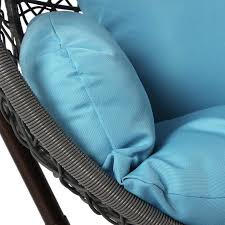 Hanging Egg Chair Ikea by Hanging Egg Chair Loveseat For Luxury Outdoor Patios Hammock Town