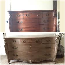 DIY Antique French Country Dresser Coco Chalk Paint Distressed With Pure White Wash And Finished
