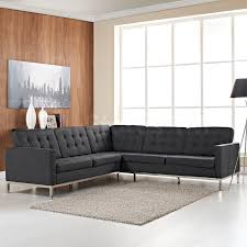 Black Sectional Living Room Ideas by Furniture Black Sectional L Shaped Couch Design Ideas With Wall