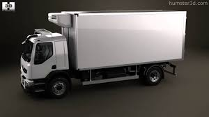 Renault Premium Distribution Refrigerator Truck 2011 By 3D Model ...