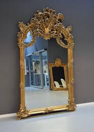 gigantischer hallenspiegel barock spiegel gold wandspiegel