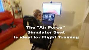 Playseat Elite Office Chair by Air Force Simulation Seat Youtube