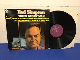 100 Truck Drivin Man Red Simpson Holl Press 338719808 Kp