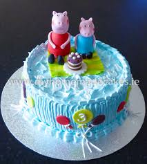 peppa pig cake decorations peppa pig cake my cakes