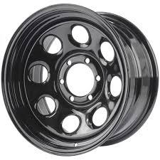 JEGS 681144: Baja-8 Steel Wheel Diameter & Width: 17 X 8
