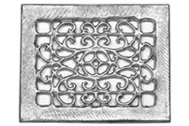 Decorative Return Air Grille 20 X 20 other large and odd sized floor vent and return sizes