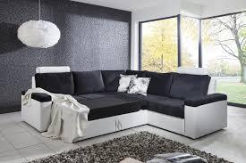 canap moderne design decoration de salon blanc et noir avec salon blanc et noir