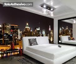 papier peint chambre ado gar n cuisine manhattan la nuit br galerie et beau papier peint chambre