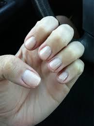 OPI gel manicure in bubblegum Too light but a good