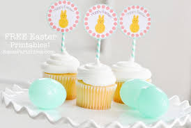Karas Party Ideas FREE Printable Hoppy Easter Tags Cupcake