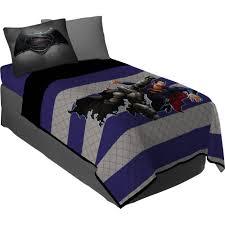 batman twin comforter set of 4 black loversiq