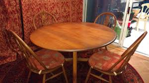Ercol Dining Table And Chairs In OX11 Vale Of White Horse For £75.00 ...
