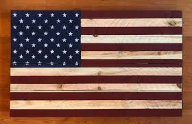 Wall Plush Design Ideas Wooden American Flag Hanging Plus Wood Art Like This Item