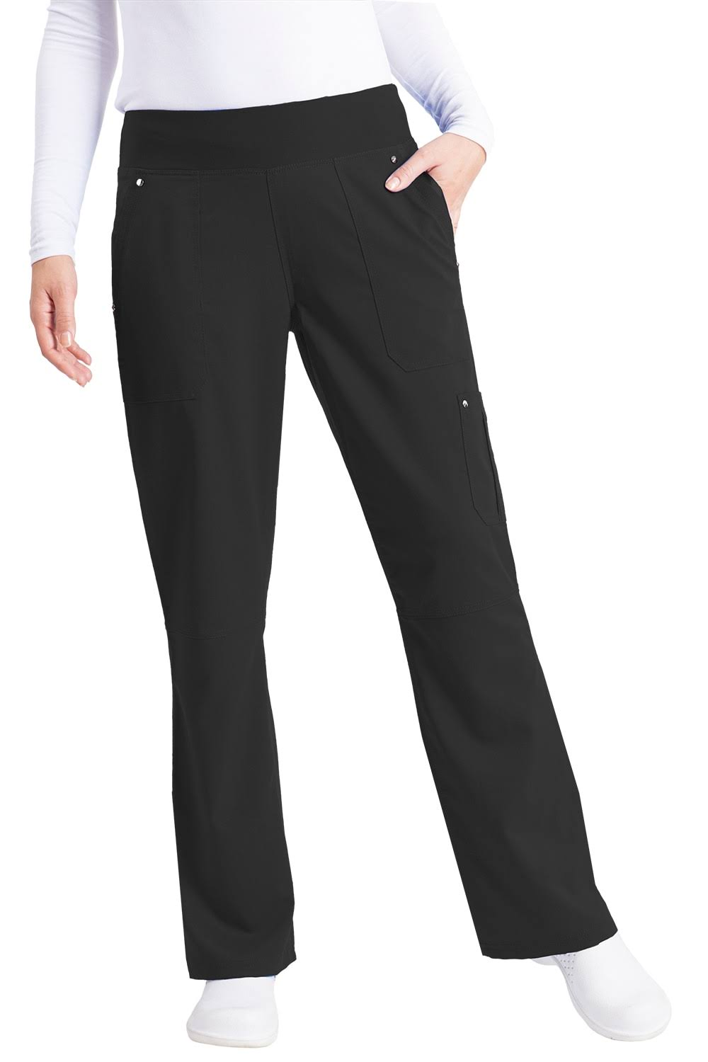 Healing Hands Women's 9133 Tori Pant - Black, XX-Large
