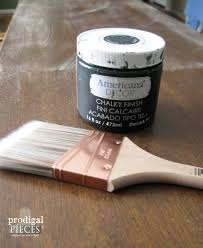 Americana Decor Chalky Finish Paint Tutorial by Update Furniture With These Simple Steps Prodigal Pieces