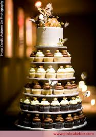 Lovable Wedding Cupcake Tower Stand 17