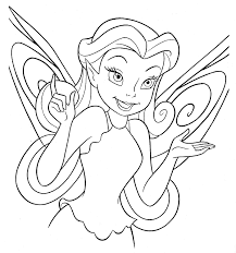 Disney Fairies Coloring Pages Colouring New
