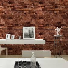 haokhome pvc vinyl modern faux brick wallpaper multi 3d