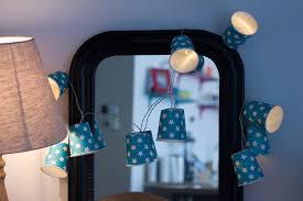 chambre ou diy guirlande lumineuse fait maison pour décorer une chambre ou