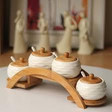 Ceramic Kitchen Canister Sets Ceramic Kitchen Canister Set Box Seasoning Sauce Pot Seasoning Salt Shaker Ceramic Sugar Bowl Japanese Ceramic Spice Jar
