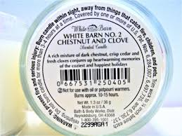 Bath & Body Works White Barn No.2 Chestnut And Clove 1.3 Oz Mini ... Bath Body Works Find Offers Online And Compare Prices At 19 Best I Love Images On Pinterest Body White Barn Thanksgiving Collection 2015 No2 Chestnut Clove 13 Oz Mini Winter Candle Picks Favorite Scented 3 Wick 145oz 145 3wick Candles Co Wreath Test 36 Works Review Frenzy