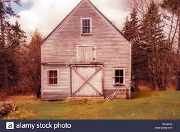 Rustic Old Maine Barn, Large Barn Door, Windows, Wooded Area, In ... Timber Barn Homes Timber Frame Plans Maine Barn Builders Dc Filenew England Union Mainejpg Wikimedia Commons Barns Dwight M Herdrich Architecture Design Antique Bnyard Stock Image 62983113 Garage Kits Xkhninfo November 2014 Phobackstory Page 2 Flat Broke Bride Apartments Winsome Images About Plans Barns And Prefab Coastal Farm For Sale Calderwood Primed Next Hansen Pole Buildings Affordable Building