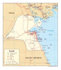 100 Where Is Kuwait City Located Large Maps For Free Download And Print High