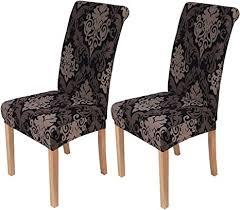 homaxy universal stretch stuhlhussen 2er 4er 6er set stuhlbezug für stuhl esszimmer 2er set style 10