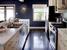 blue kitchen paint colors